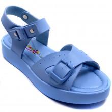Wendy 610 Filet Yazlık Çocuk Sandalet - Mavi - Filet