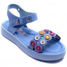 Wendy 612 Filet Yazlık Çocuk Sandalet - Mavi - Filet