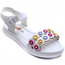 Wendy 612 Filet Yazlık Çocuk Sandalet - Beyaz - Filet