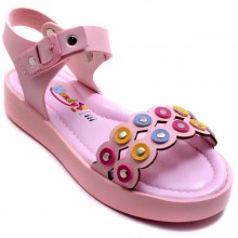 Wendy 612 Filet Yazlık Çocuk Sandalet - Pembe - Filet