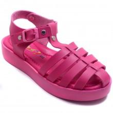 Wendy 618 Filet Yazlık Çocuk Sandalet - Fuşya - Filet