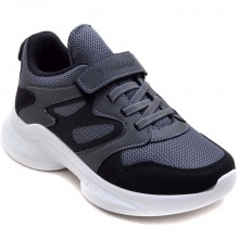 Twitto-458 Filet Spor Ayakkabı - Siyah