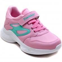 Twitto-458 Filet Spor Ayakkabı - Pembe