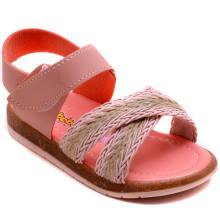 Şirin Bebe 220 Kız Çocuk Bebe Sandalet - Yavruağzı - Bebe