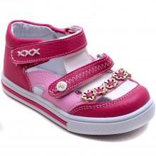 Şirin Bebe 320 Kız Çocuk Bebe Sandalet - Pembe/P - Bebe