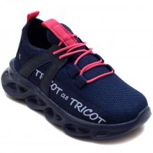 Calibron~50 Tricot Filet Spor Ayakkabı - Lacivert/P