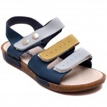 Şirin Genç 422 Erkek Çocuk Filet Sandalet - Mavi - Filet