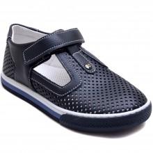 Şirin Genç 482 Erkek Çocuk Filet Sandalet - Lacivert - Filet