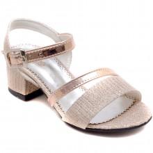 Alibo 56 Abiye Kız Patik Sandalet - Krem - Patik