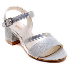 Alibo 56 Abiye Kız Patik Sandalet - Gri - Patik