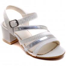 Alibo 58 Abiye Kız Patik Sandalet - Gri - Patik