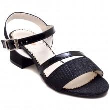 Alibo 56 Abiye Kız Filet Sandalet - Siyah - Filet