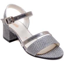 Alibo 56 Abiye Kız Filet Sandalet - Gri/D - Filet