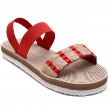 Alibo 28 Rahat Filet Hasır Sandalet - Kırmızı - Filet