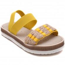 Alibo 28 Rahat Patik Hasır Sandalet - Sarı - Patik